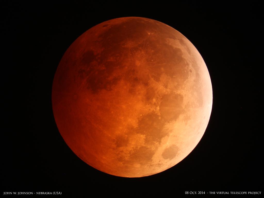 Blood Moon by John W. Johnson: Oct. 8, 2014