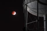 This image, taken by Katie Whitman, shows the total lunar eclipse of Oct. 8, 2014 from Georgia.