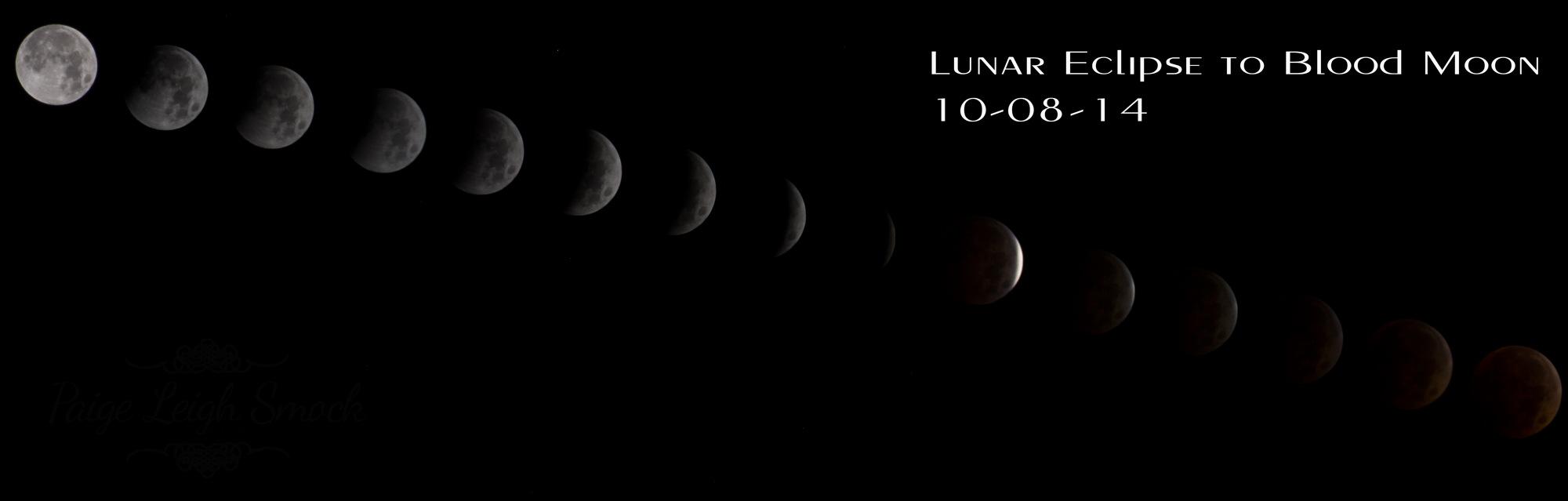 Lunar Eclipse Composite Image