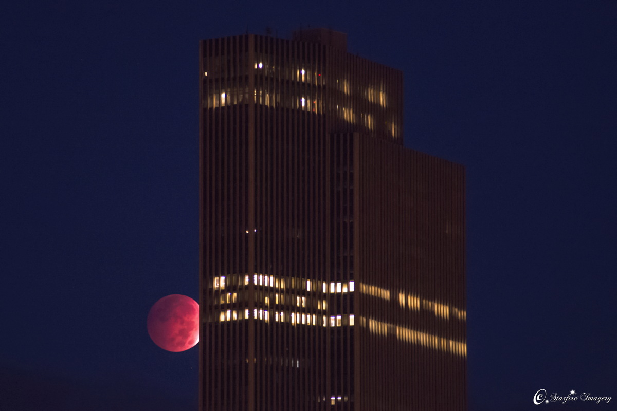 Oct. 8, 2014, Lunar Eclipse Seen in Albany, NY