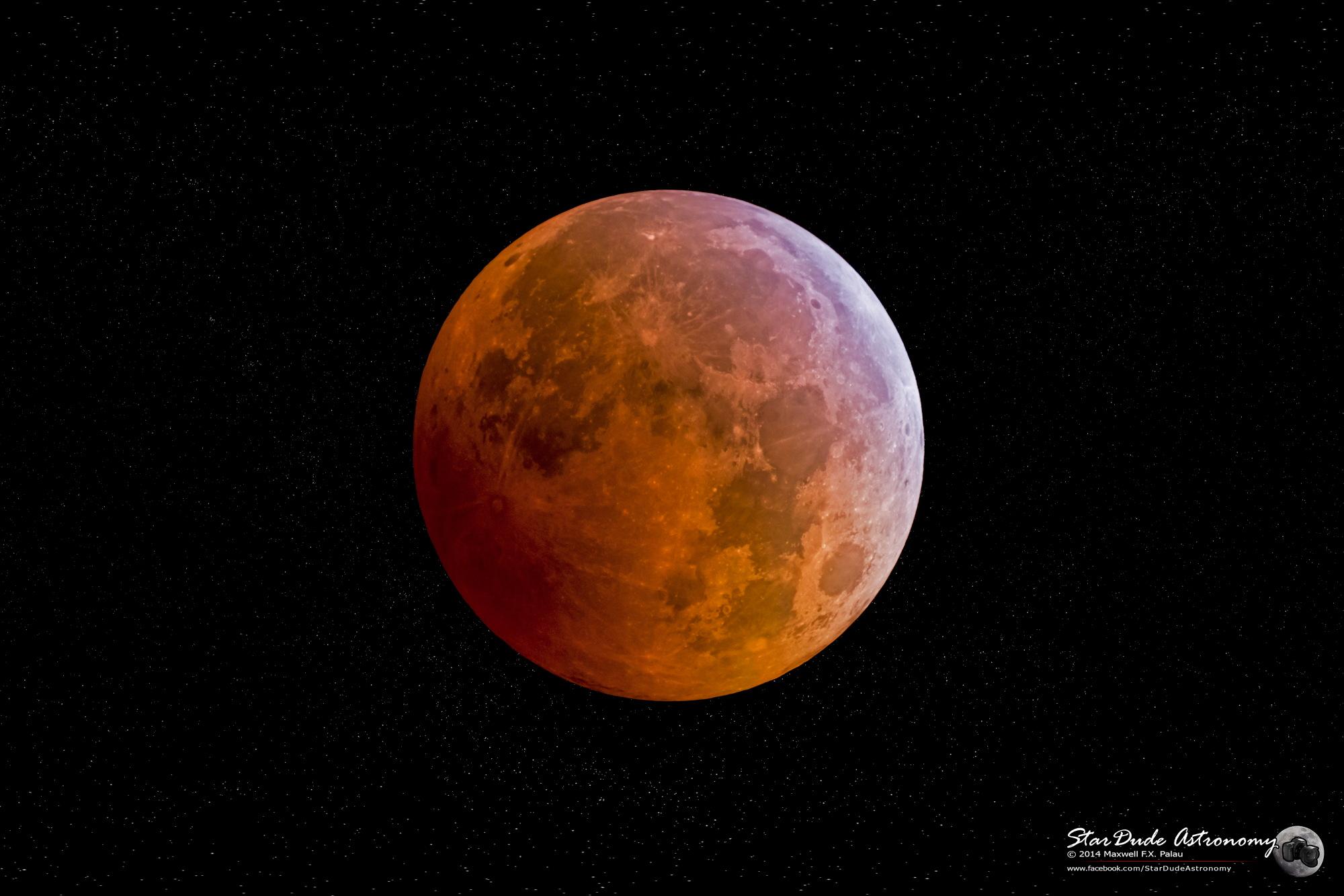 Lunar Eclipse Seen in San Diego