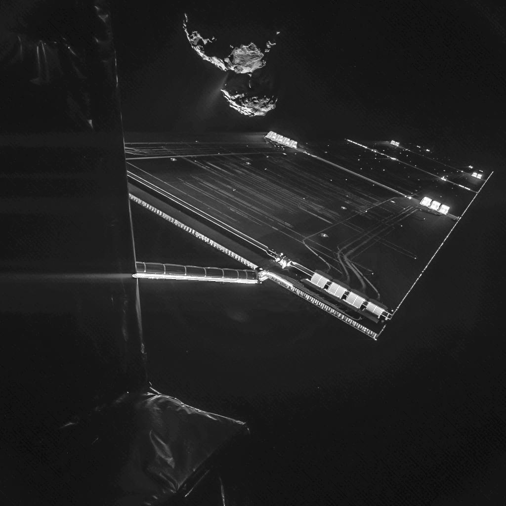 Rosetta Comet 'Selfie'
