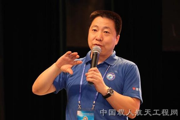 Yang Liwei, deputy director of China Manned Space Engineering. He is China's first space traveler and has opened the door for other nations to take part in their space station plans.