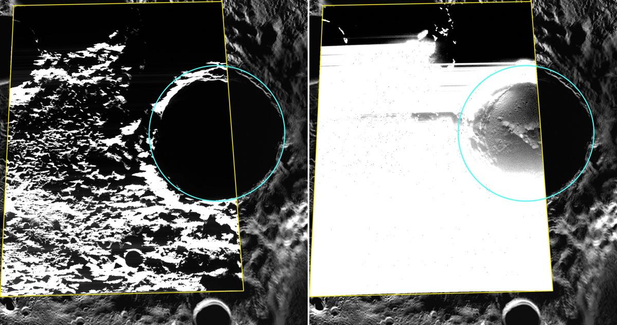 Kandinsky Crater on Mercury