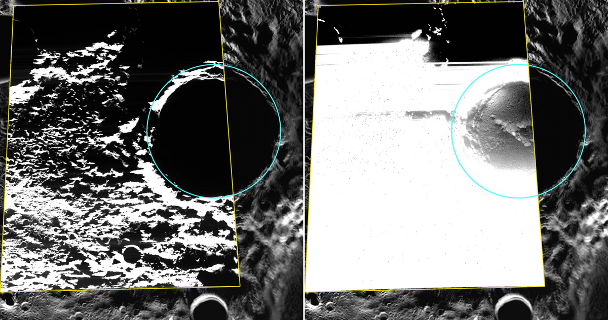 First Photos of Water Ice on Mercury Captured by NASA Spacecraft