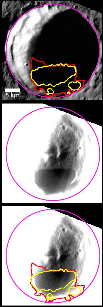 Berlioz Crater on Mercury