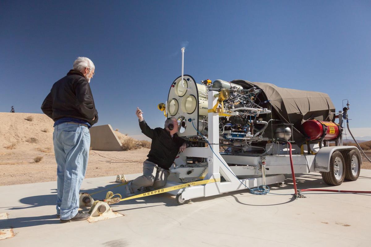 Lynx Main Engine Inspection