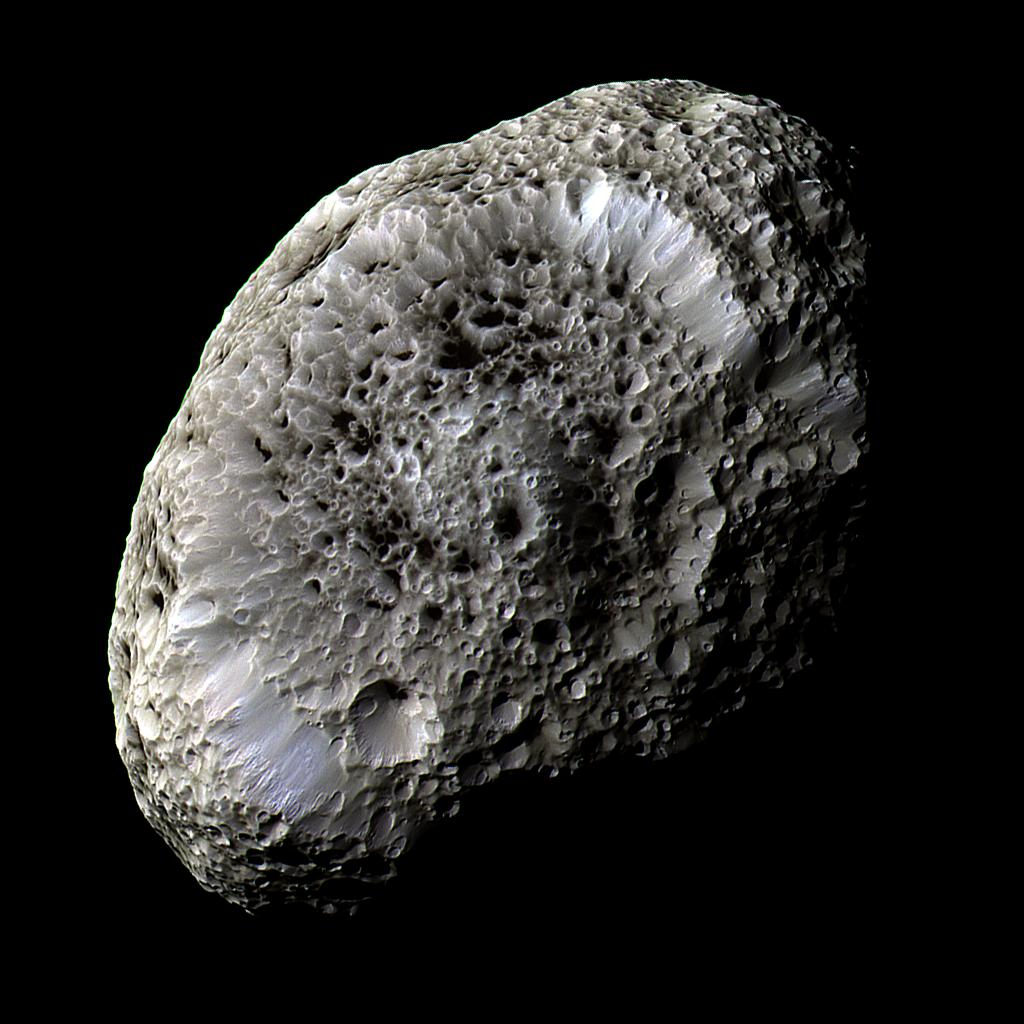 Saturn's Moon Hyperion