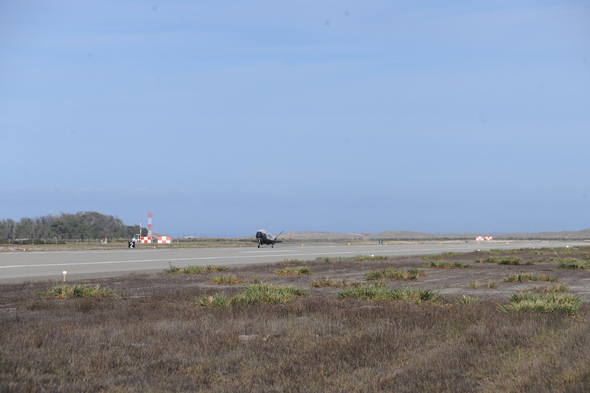X-37B Space Plane Makes 3rd Landing