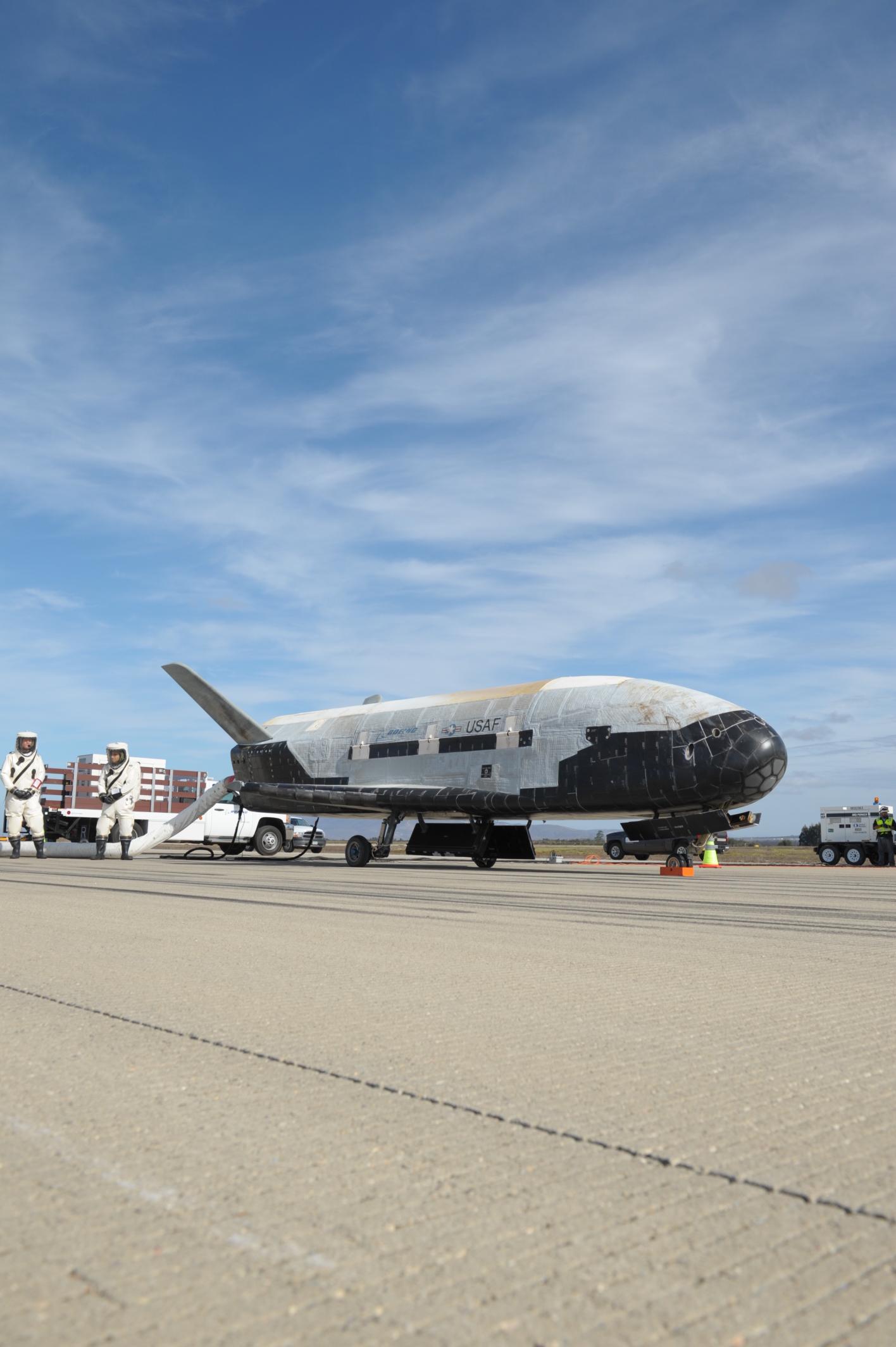 X-37B Space Plane Processing