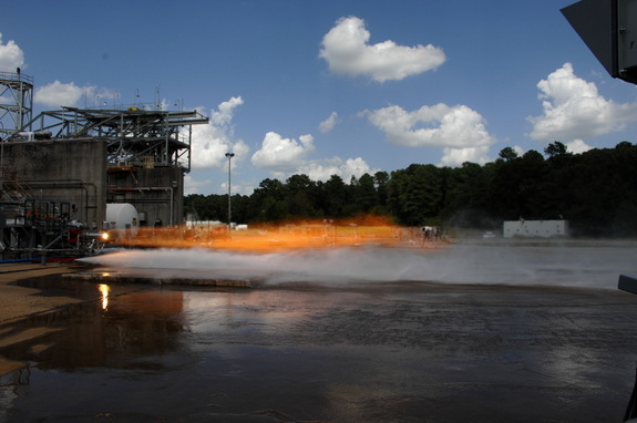 NASA tested two rockets with 3D-printed injectors that produced 20,000 lbs. (9,702 kilograms) of thrust.
