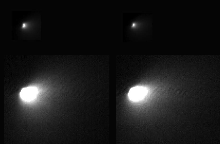 Mars Reconnaissance Orbiter Sees Comet Siding Spring