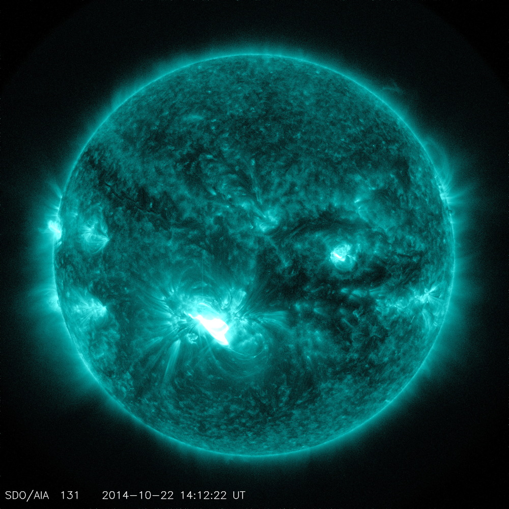 X1.6 Class Flare on Oct. 22, 2014
