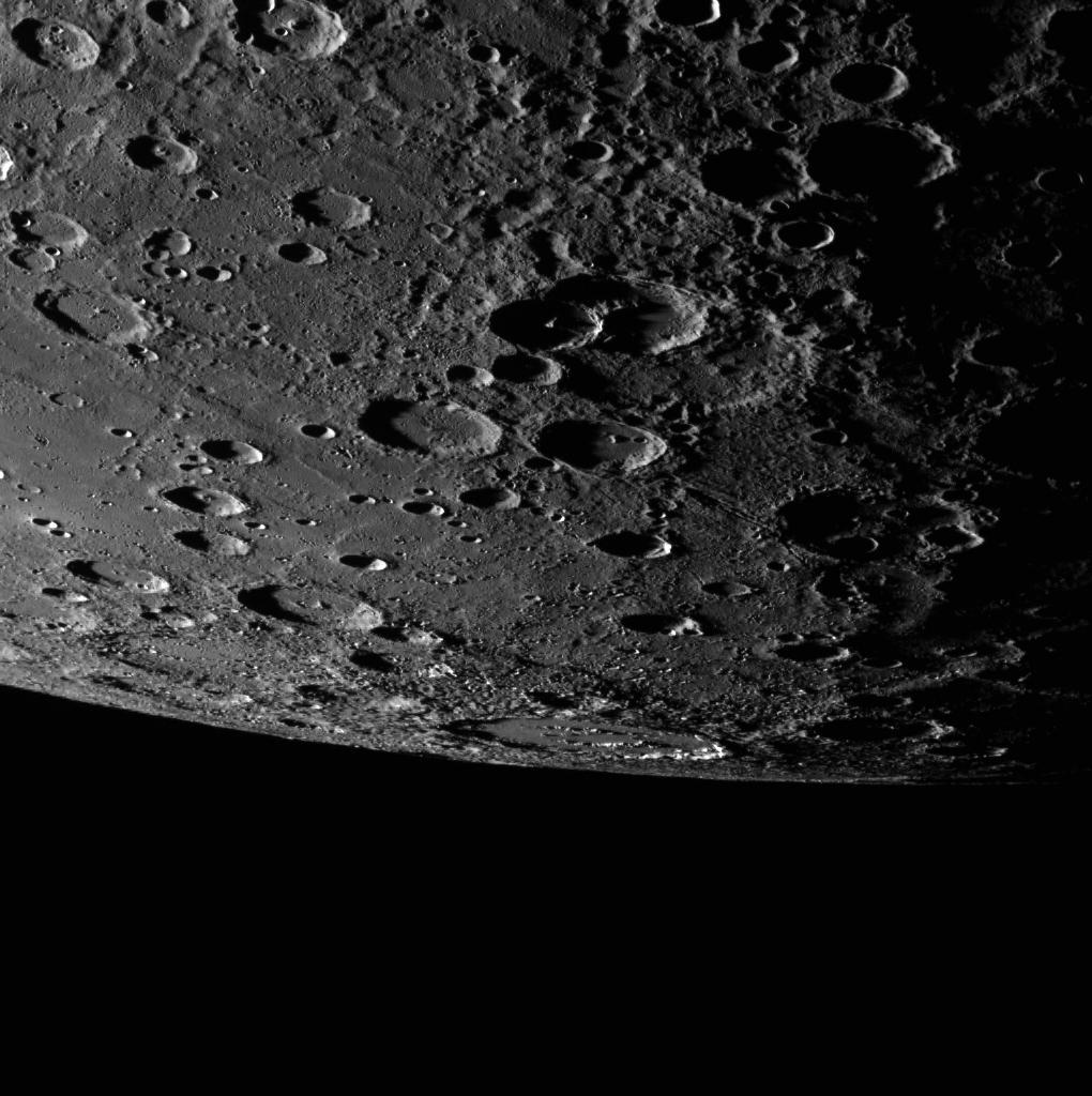 Alver Crater on Mercury