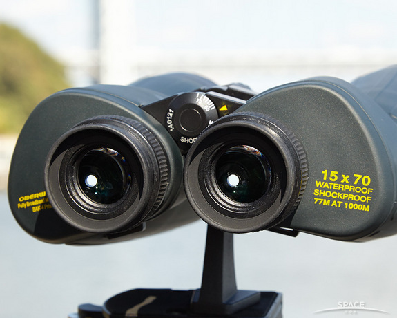 "Numbers on binoculars, like 15x70, state the magnification power and the lens size. <a href=""http://www.amazon.com/Oberwerk-Ultra-15x70mm-Binoculars-OB15x70U/dp/B002Q706K4/?&tag=space041-20&ascsubtag=[sitespace[catNA[art27404[pidB002Q706K4[tidNA[bbcmanual"" target=""_blank"" rel=""nofollow"">BUY these Oberwerk Ultra 15x70 binoculars >>></a>"