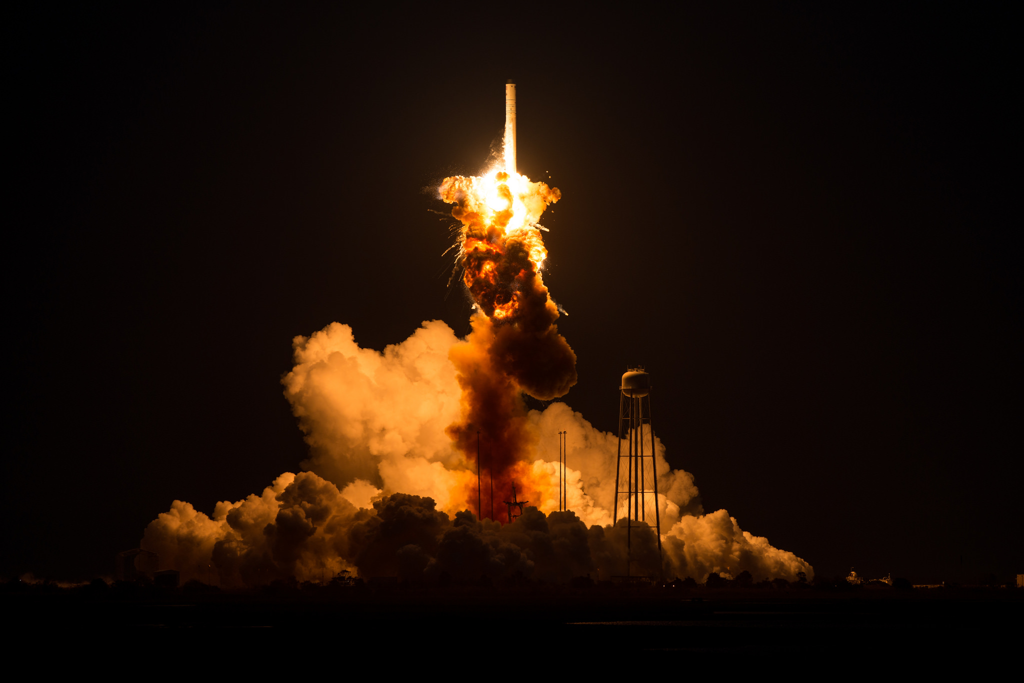 Doomed Antares Rocket Powered by Refurbished Soviet  Engines