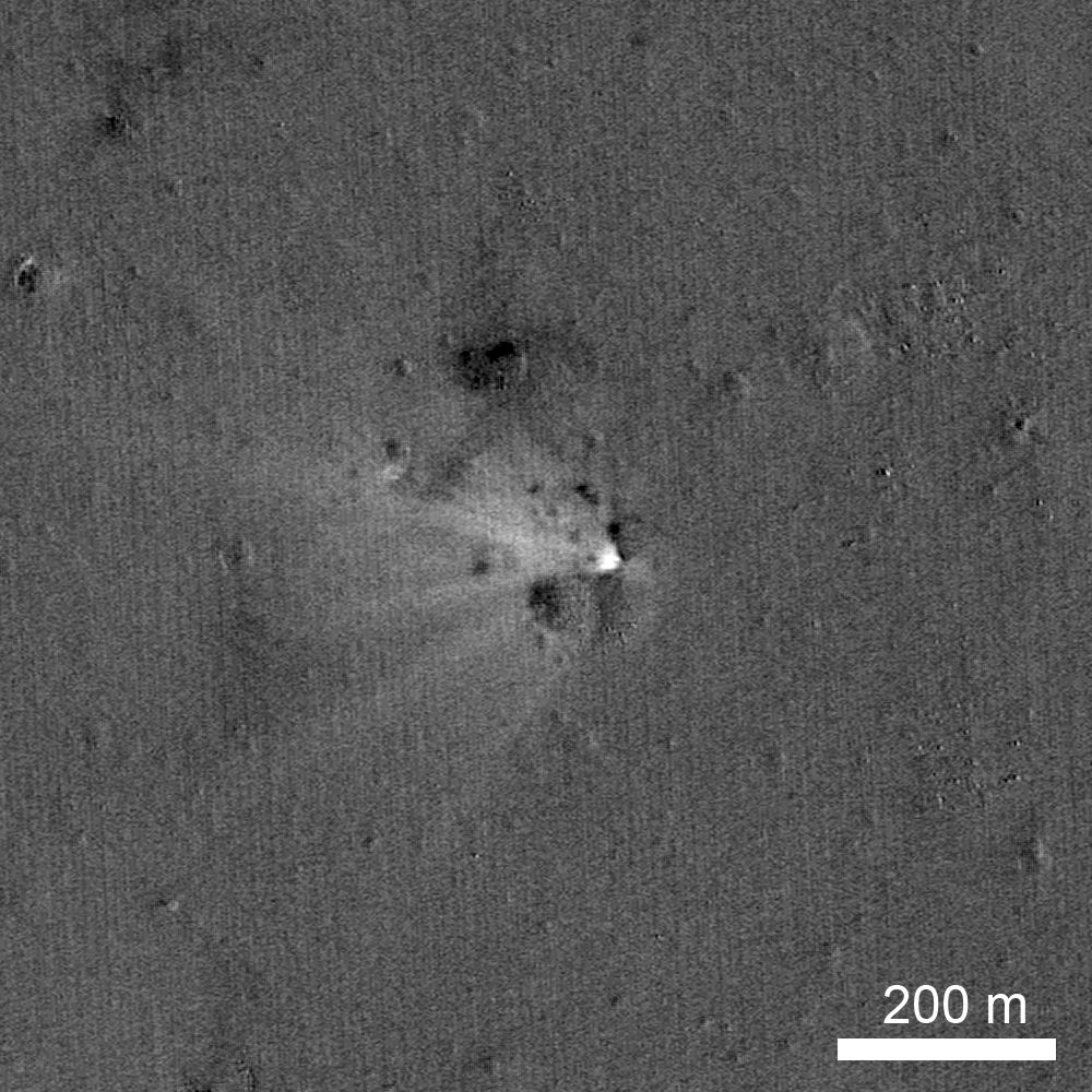 NASA Spacecraft's Grave on the Moon Found (Photo)