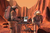 Future Mars expeditions will surely search for evidence of past life on the Red Planet, even potentially identifying organisms that are alive and well on that distant world.