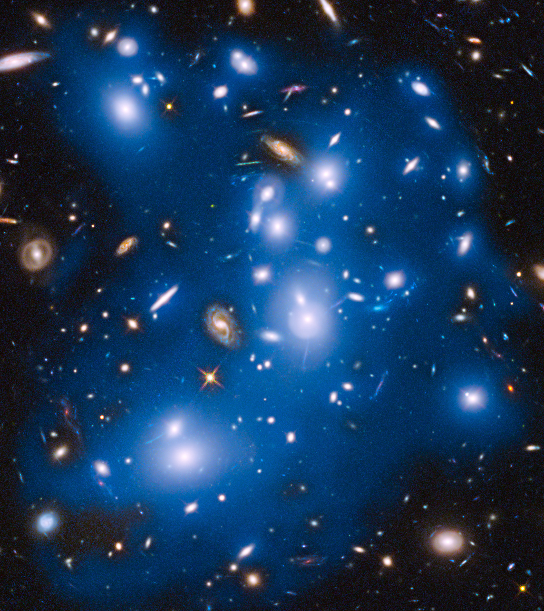 'Ghost Light' of Long-Dead Stars Haunt NASA's Hubble Telescope