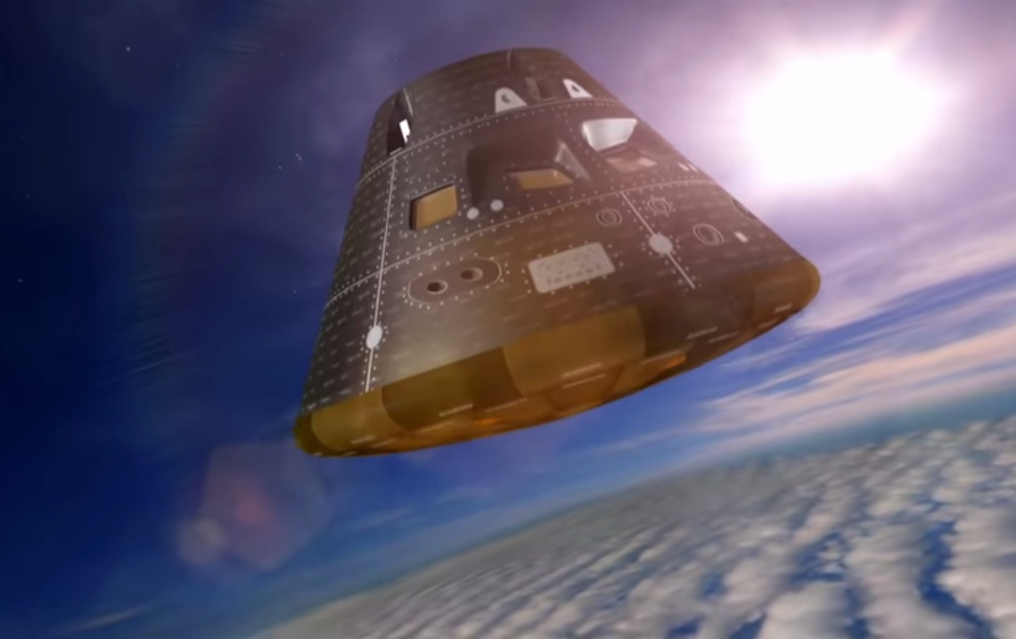 Daring Orion Spaceship Test Flight Is NASA's 1st Step Toward Mars