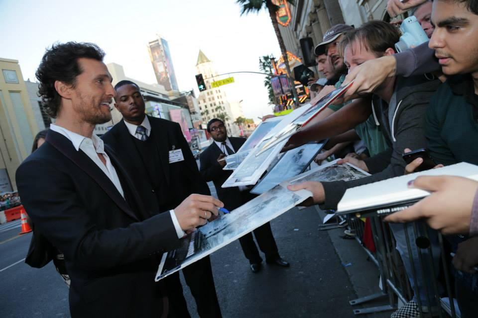 McConaughey at 'Interstellar' Premiere