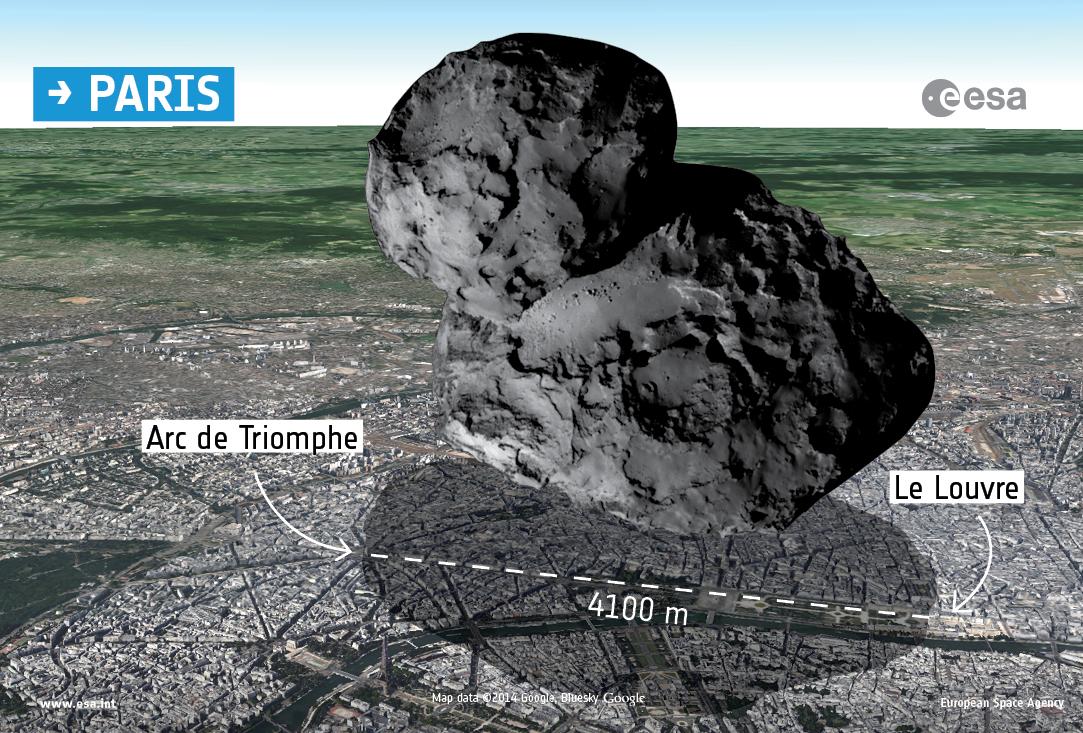 Comet Over Paris