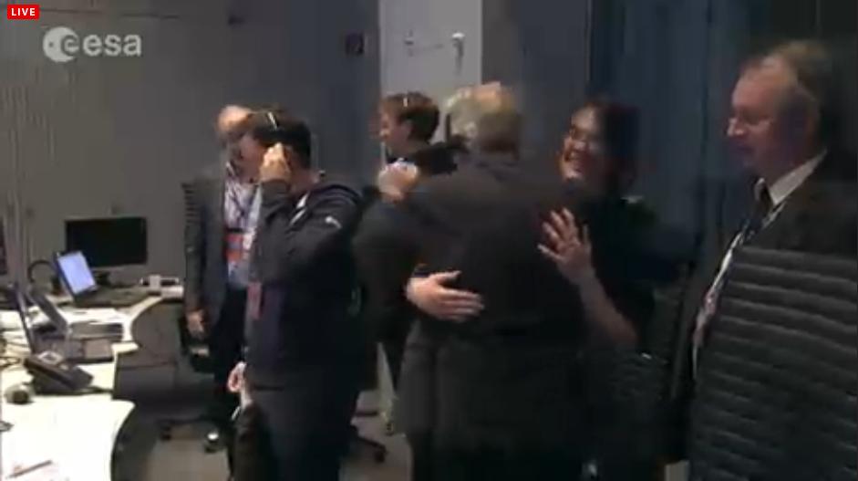 ESA Rosetta Philae Separation
