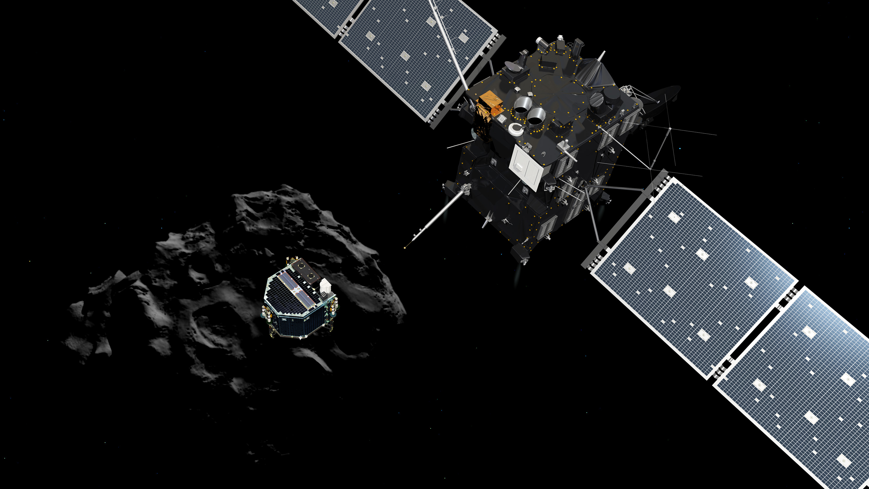Philae Comet Lander Deployed