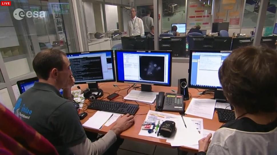 Rosetta Sees Philae