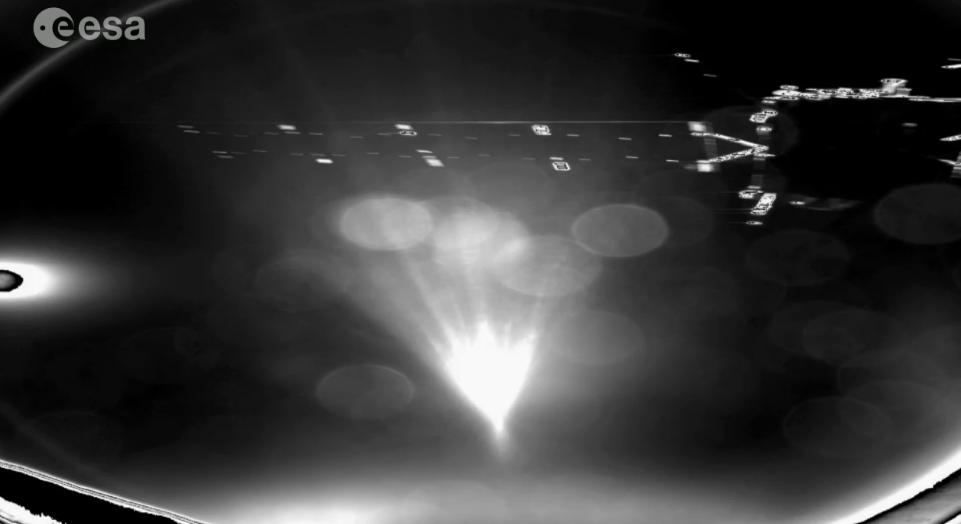 First Photo CIVA Philae Landing