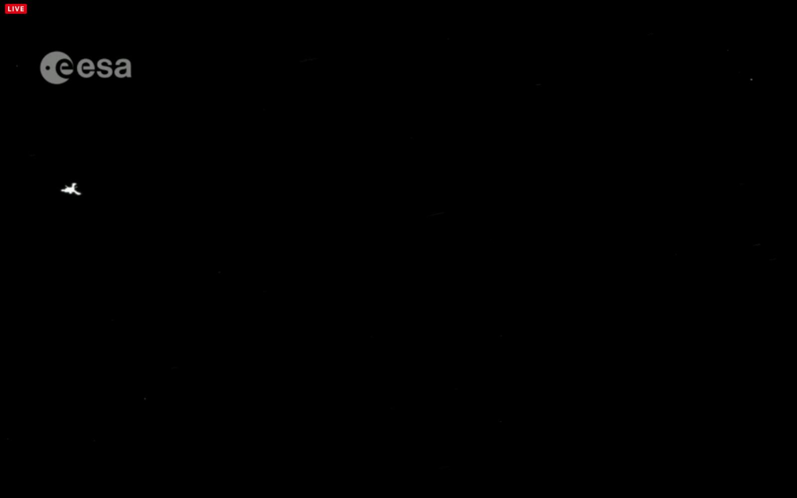 Philae Lander Seen by Rosetta Spacecraft
