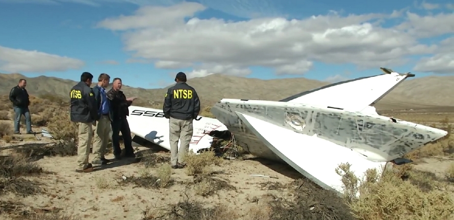 SpaceShipTwo Pilot Unaware 'Feather' System Was Unlocked: NTSB