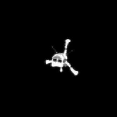 Still from Animated GIF Shows Philae's Descent