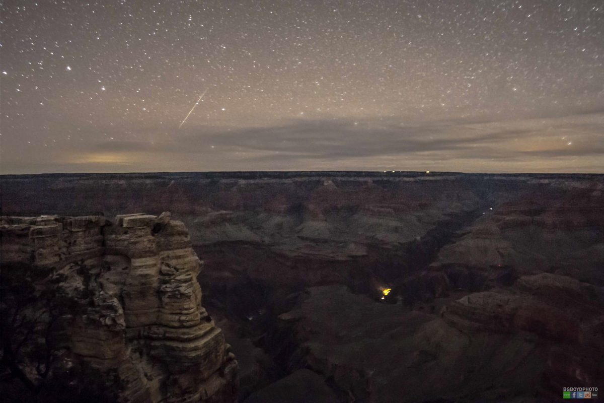Grand Canyon Meteor