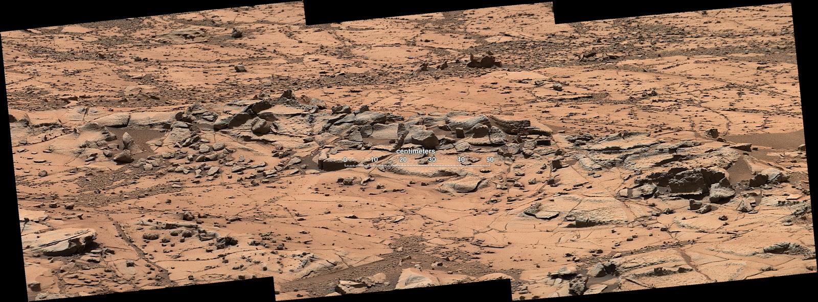'Pink Cliffs' Resist Erosion on Mars