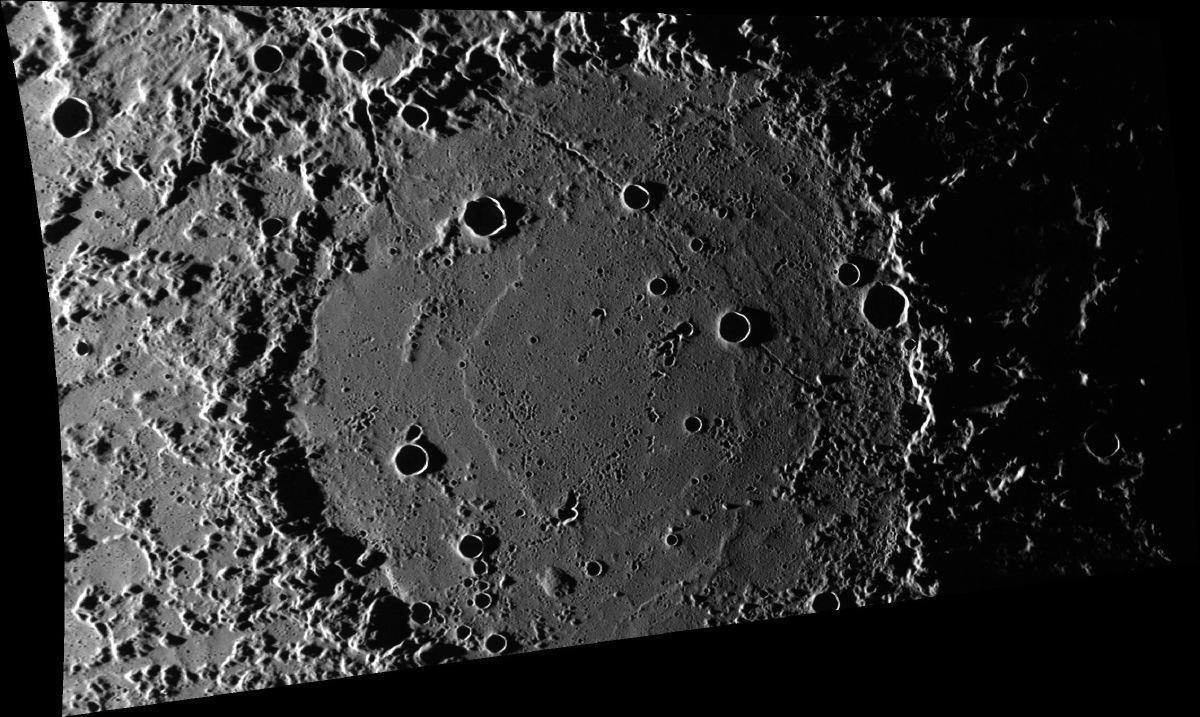 Van Eyck Crater on Mercury