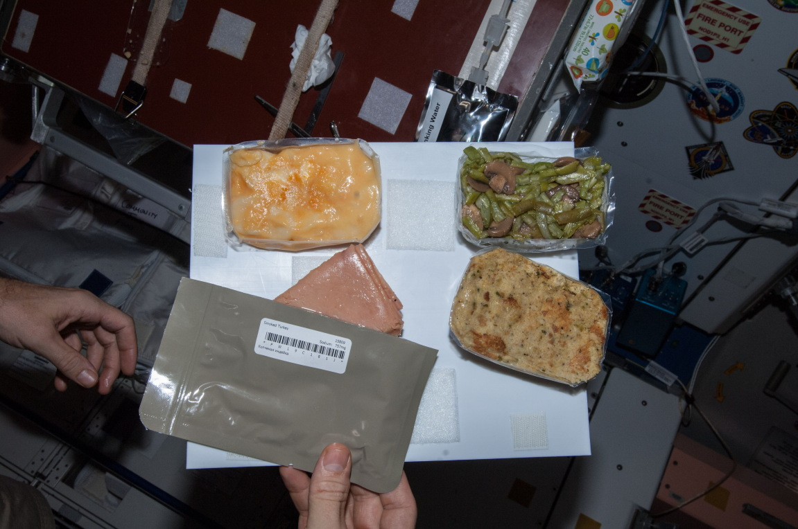 Thanksgiving Meal for Expedition 38