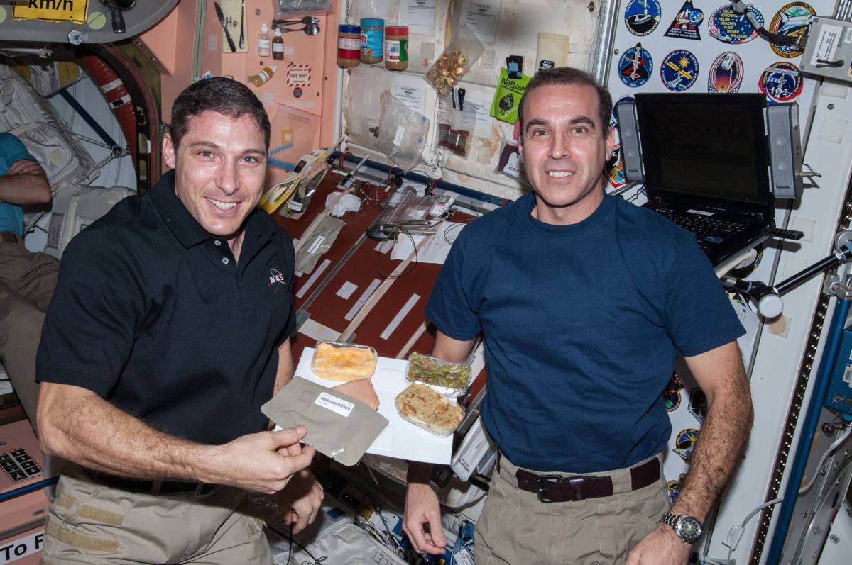 2013 ISS Thanksgiving Foods