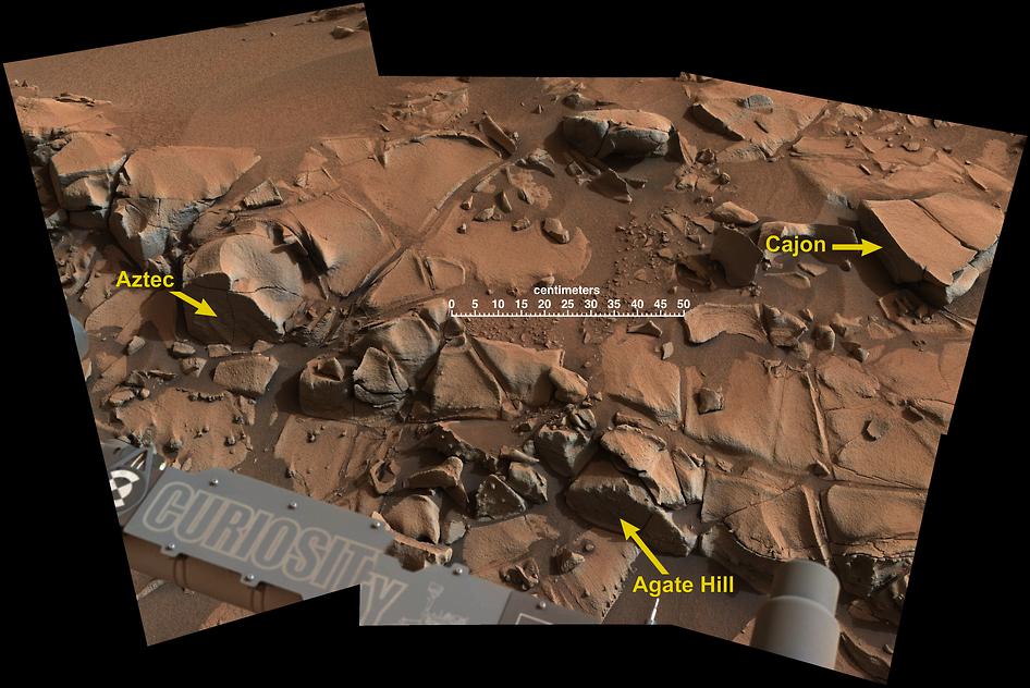 Mars Target Area 'Alexander Hills'