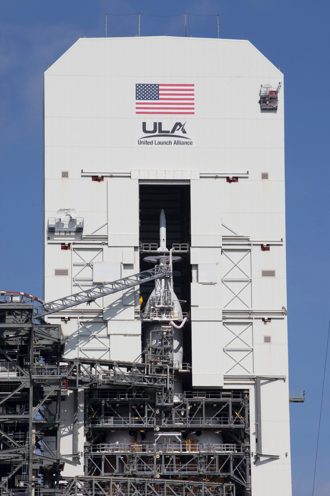 Orion Spacecraft at the Launch Pad