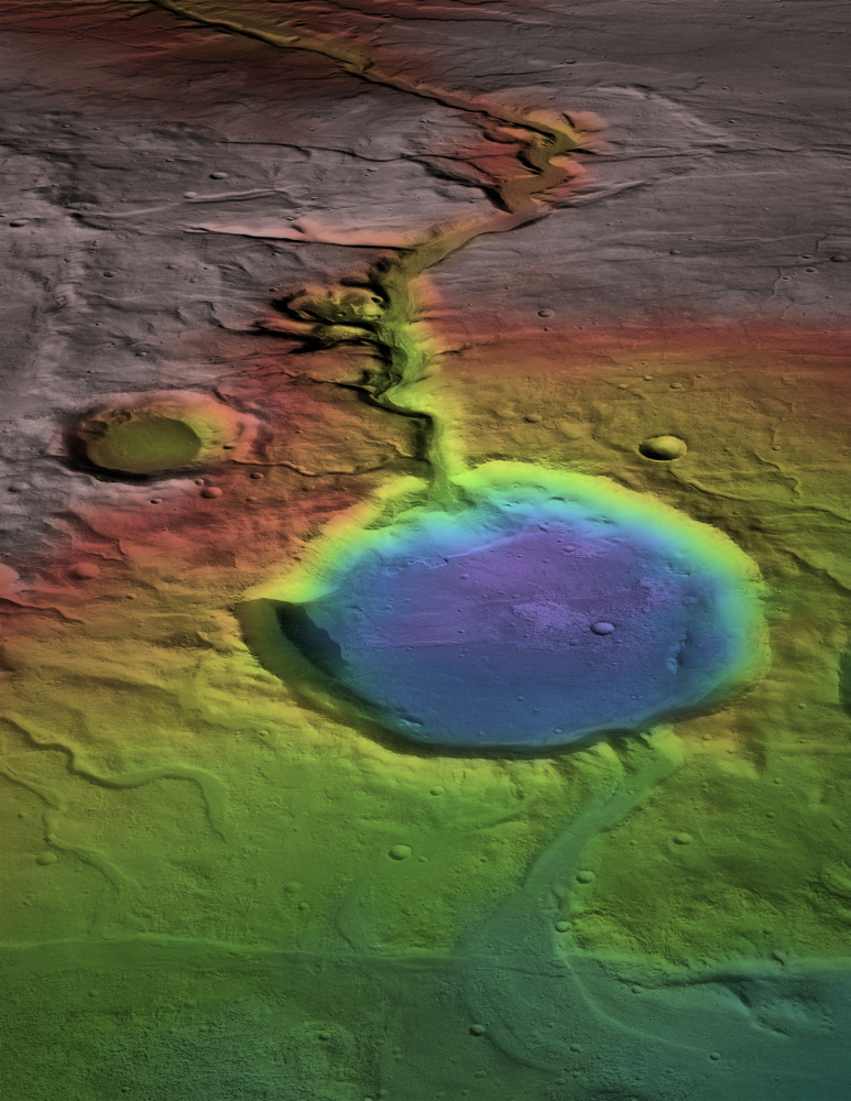 Volcanic Eruptions on Mars Could Have Caused Water to Flow