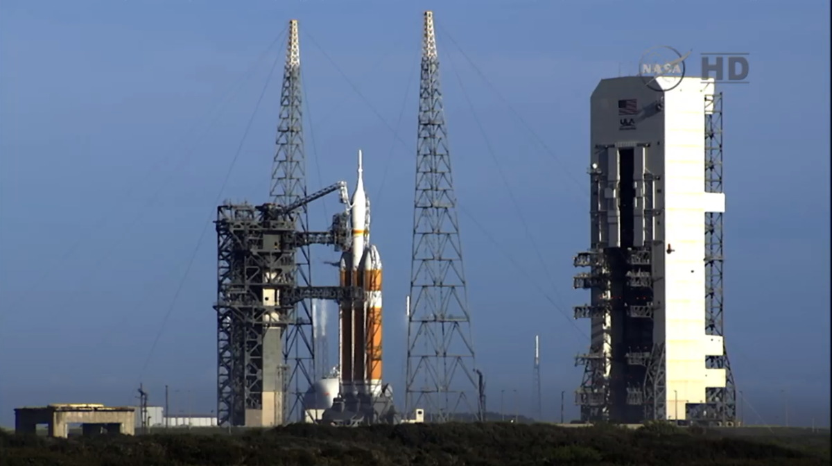 Orion in Launch Hold