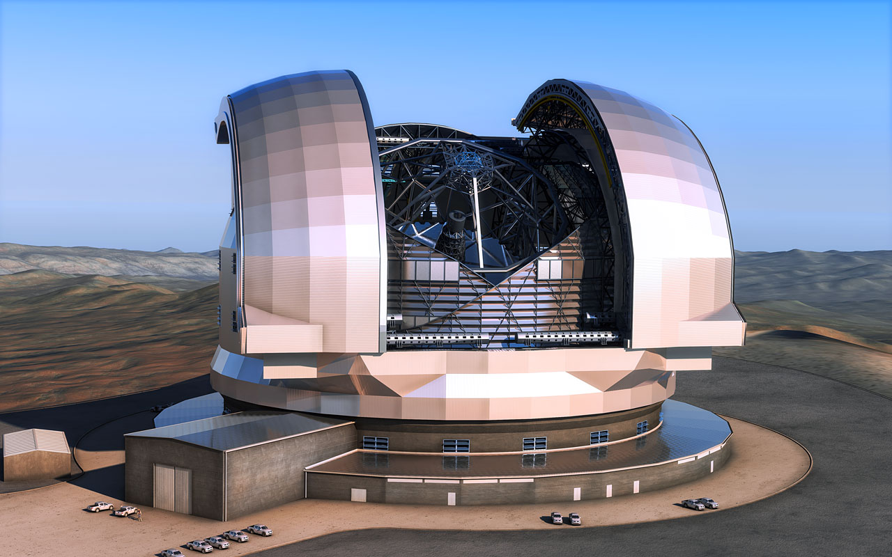 Biggest-Ever Telescope Approved for Construction