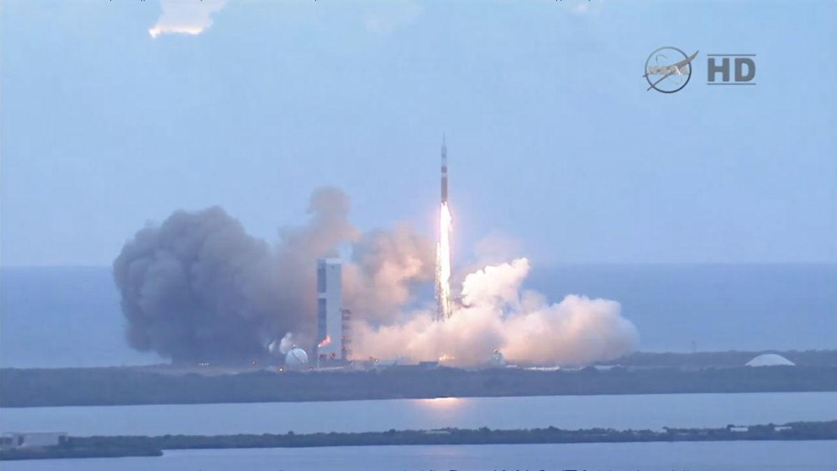Orion Launches on EFT-1 Mission #2