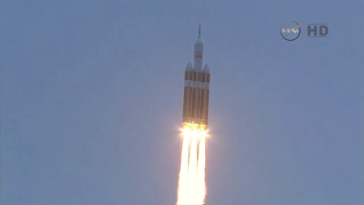 Orion Launches on EFT-1 Mission #3