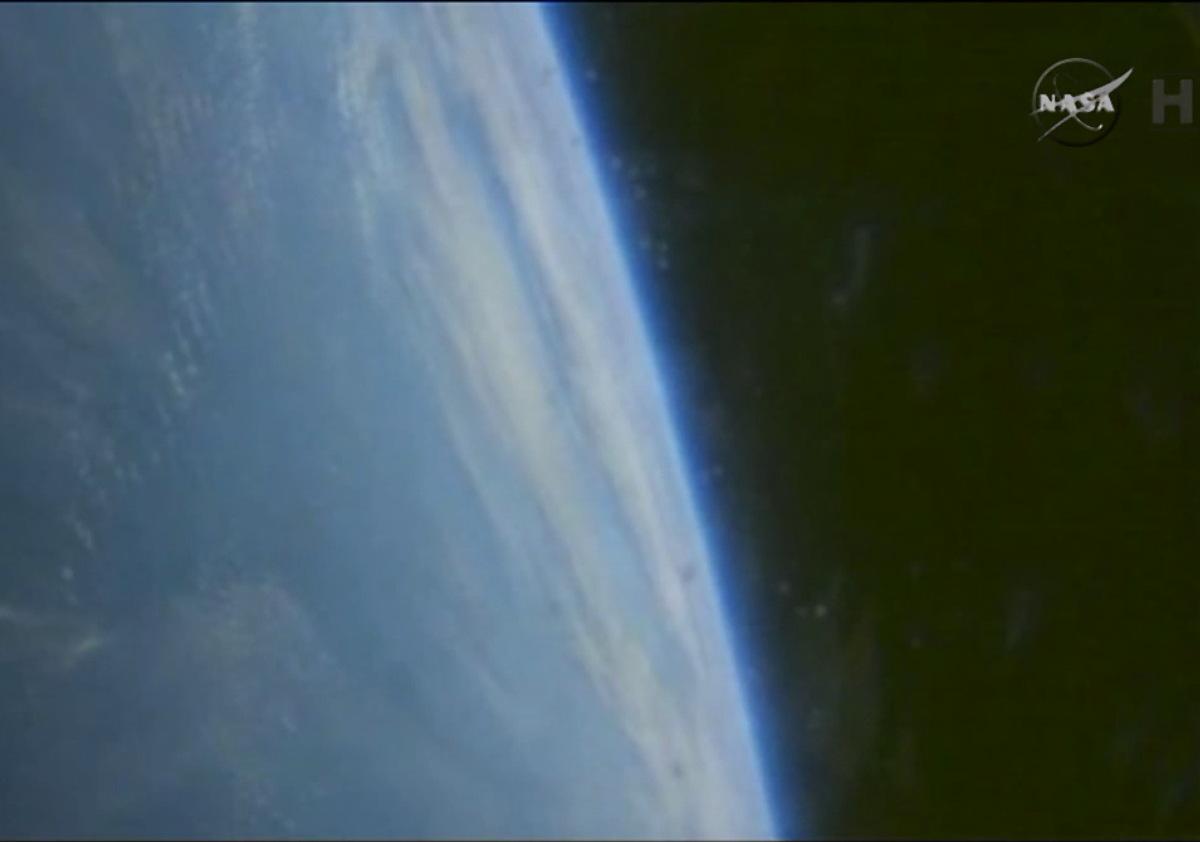 Orion's View of Earth Before Splashdown
