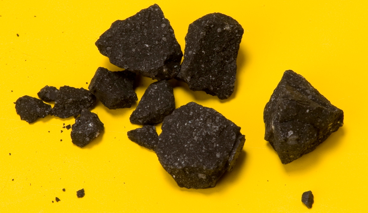 Space Diamonds in Gold Country: California Meteorite's Secrets Revealed