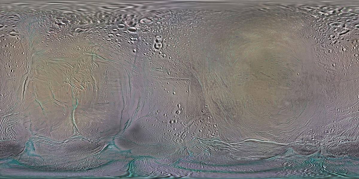 2014 Map of Enceladus