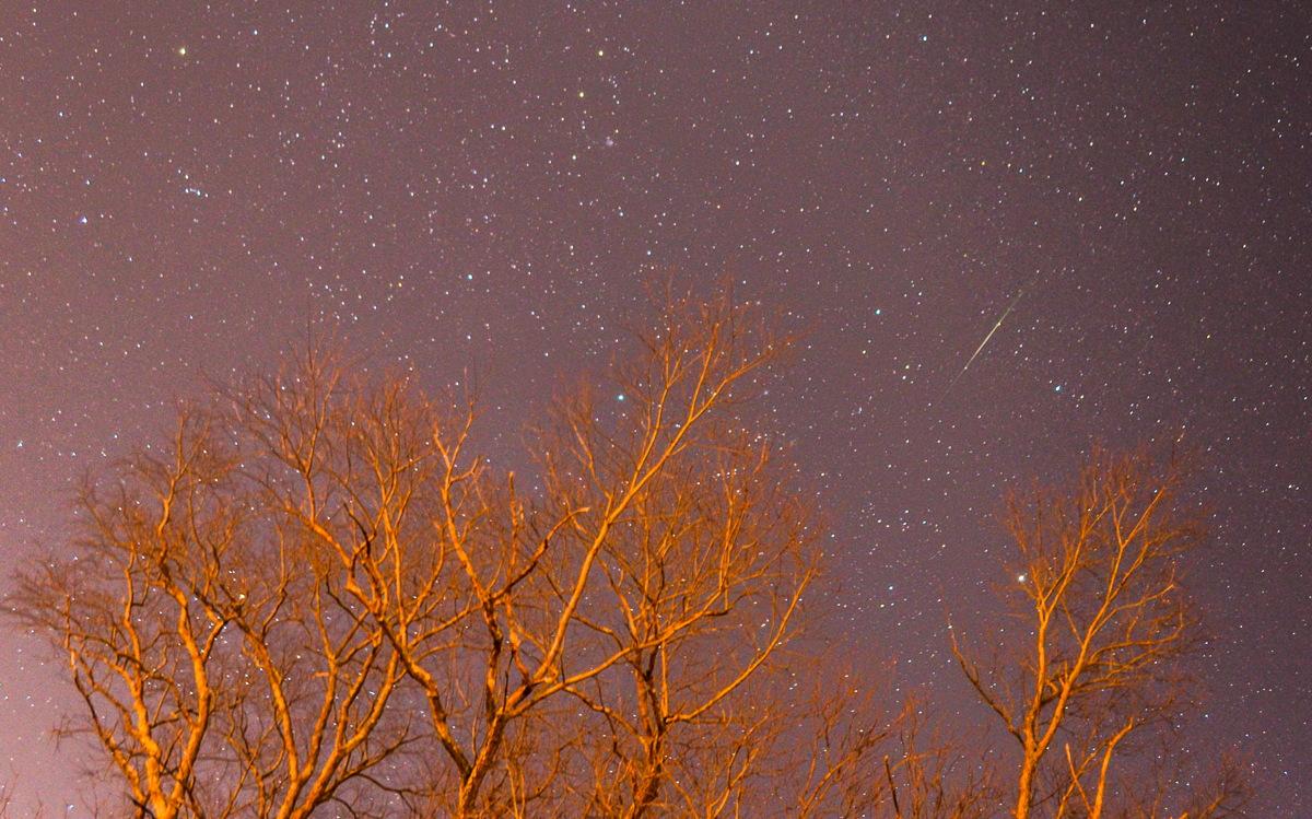 2014 Geminid Meteor Over New Jersey