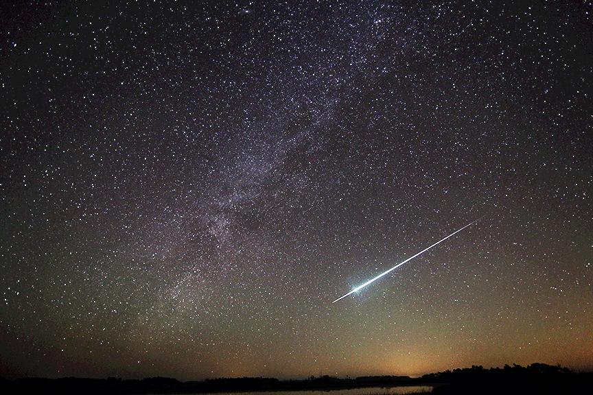 2014 Geminid Meteor Over Florida